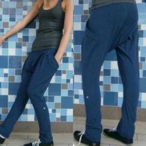 Rare Lululemon Cargo Harem Organic Cotton Pants